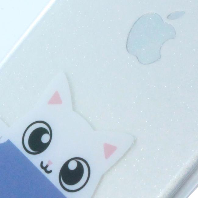 Karl Lagerfeld - K-Peek A Boo - Glitter Cover - Apple iPhone 7 8 - Blue