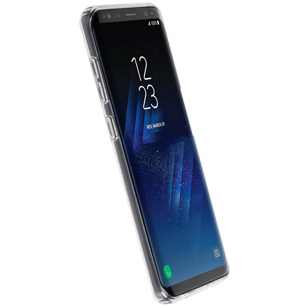 Image of   Krusell Bovik Silikone Cover til Samsung Galaxy S8 Transparent
