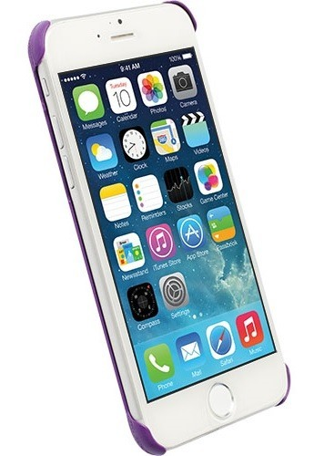 Krusell Malmø TextureCover til iPhone 6S / 6 Lilla