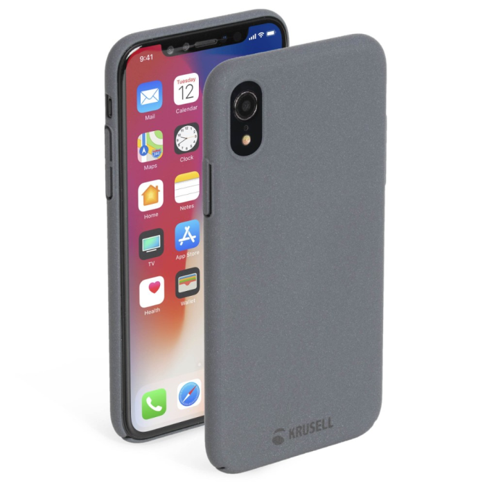 Krusell Sandby Cover iPhone XR Stone