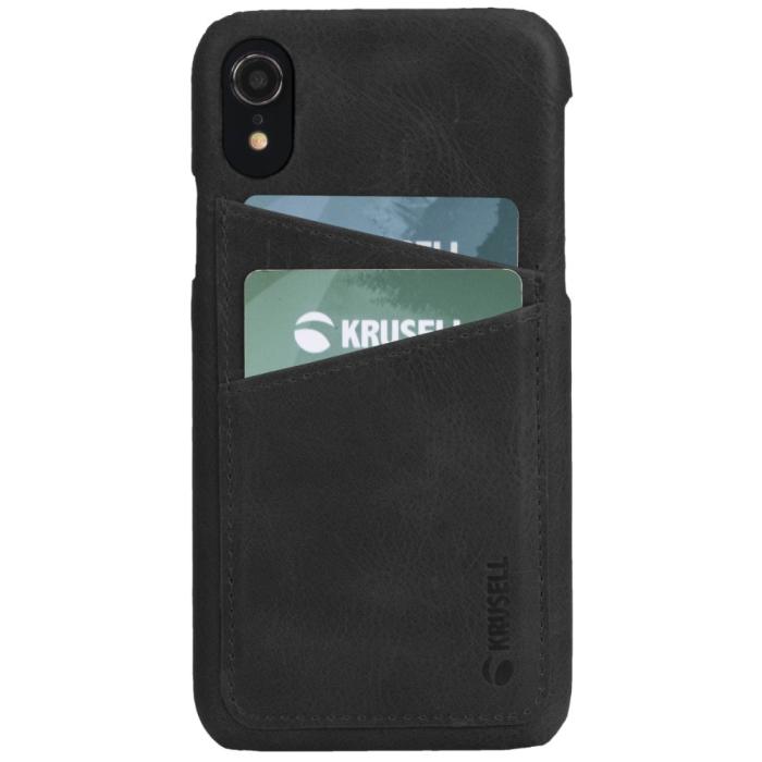 Krusell Sunne 2 Card Cover Apple iPhone XR Black