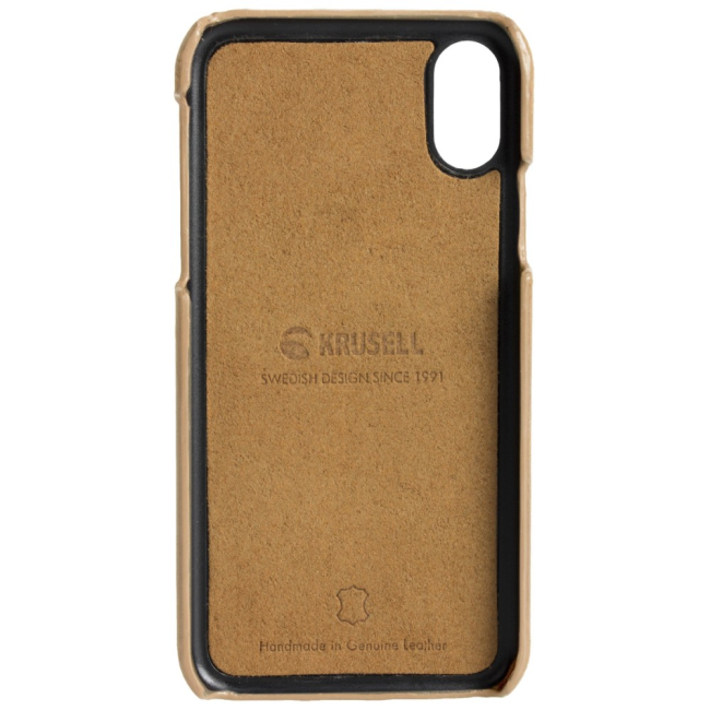 Krusell Sunne 2 Card Cover Apple iPhone XR : Krusell Sunne 2 Card Cover Apple iPhone XR Nude