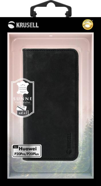 Billede af KRUSELL SUNNE 4 CARD WALLET (HUAWEI P20 PRO VINTAGE BLACK)
