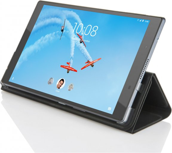 "Image of   LENOVO TAB 4 PLUS 8"" (FOLIO CASE & FILM BLACK)"