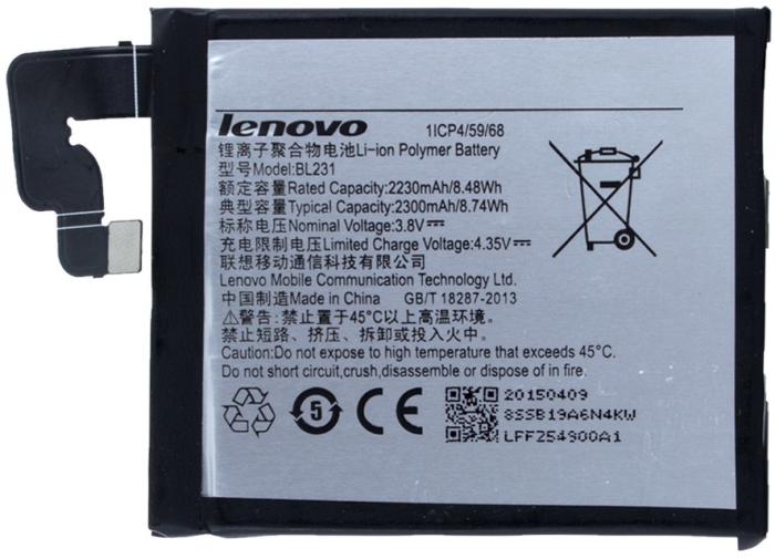 Image of   Lenovo -Vibe X2 / Vibe 2X Pro batteri Lenovo BL-231