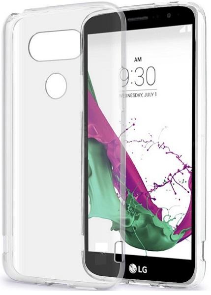 Image of   LG G5 Redneck Flexi Case i ultra fleksibel 0.6 mm silikone gennemsigtigt