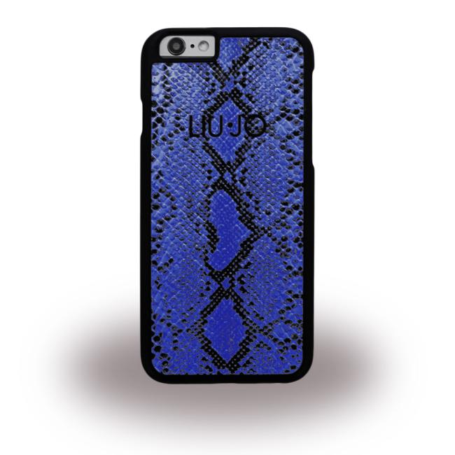 Image of   Liu Jo - Snake LJ6SNAKEBLU - Hard Cover / Hard Case - Apple iPhone 6 6s - Blue