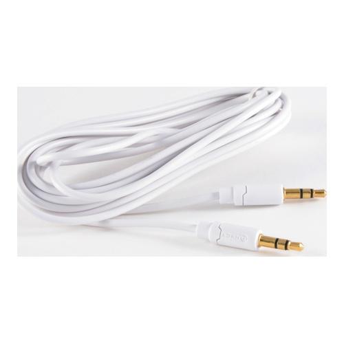 Billede af Minijack Cable 35mm Male - Male White Stereo 15m