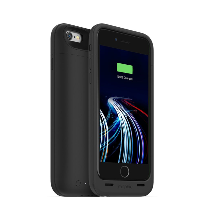 Mophie Juice Pack Ultra 3950mAh Extended Battery Charging Case for Apple iPhone 6/6s in Black
