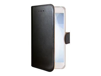 Image of   Nokia 6 flipcover Celly Wally Case - Sort