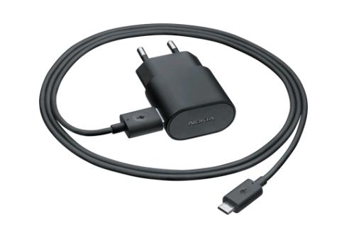 Billede af Nokia AC-50E microUSB hurtiglader