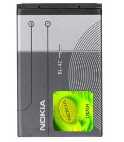 Billede af Nokia BL-4C batteri Originalt