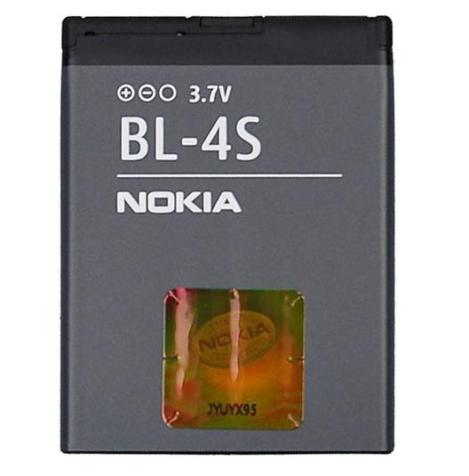Billede af Nokia BL-4S batteri Originalt
