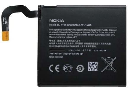 Billede af Nokia Lumia 925 batteri Originalt Nokia BL-4YW