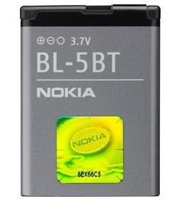 Billede af Nokia 2600 classic batteri originalt Nokia BL-5BT