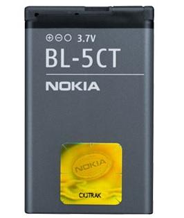 Billede af Nokia 3720 6303 6730 C3-01 C5-00 (med flere) batteri Nokia BL-5CT Originalt