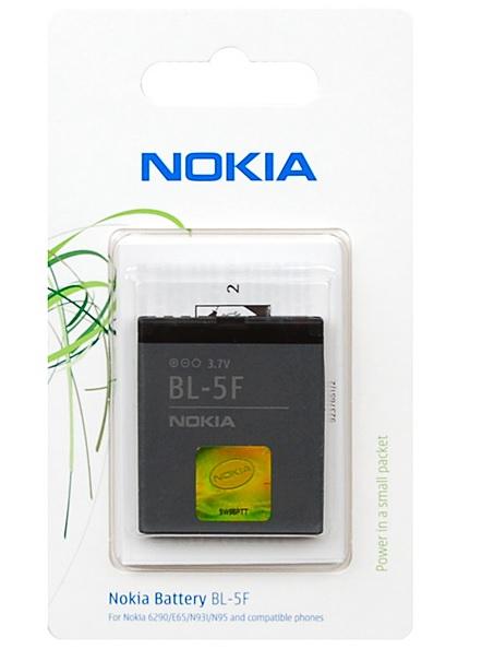 Billede af Nokia BL-5F batteri