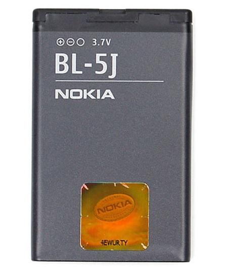 Billede af Nokia BL-5J batteri Originalt
