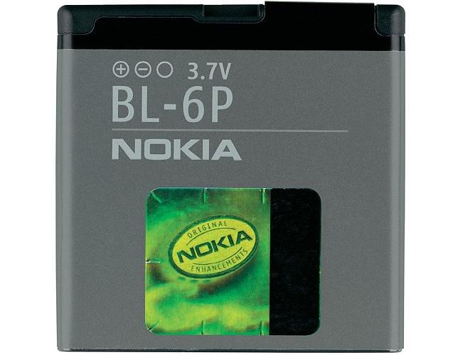 Billede af Nokia BL-6P batteri Originalt