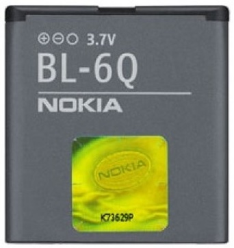Billede af Nokia 6700 Classic batteri originalt Nokia BL-6Q