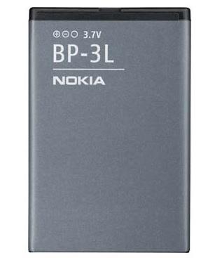 Billede af Nokia 603 og Lumia 710 batteri Originalt Nokia BP-3L