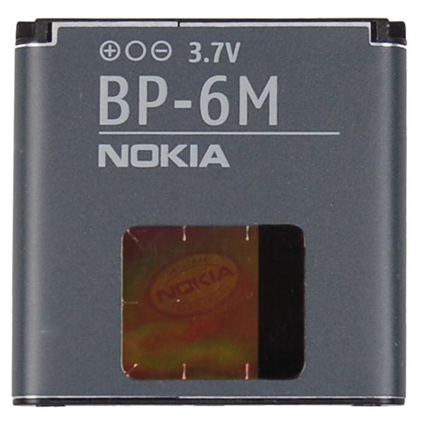 Billede af Nokia BP-6M batteri Originalt