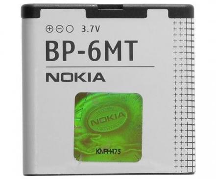 Billede af Nokia BP-6MT batteri Originalt