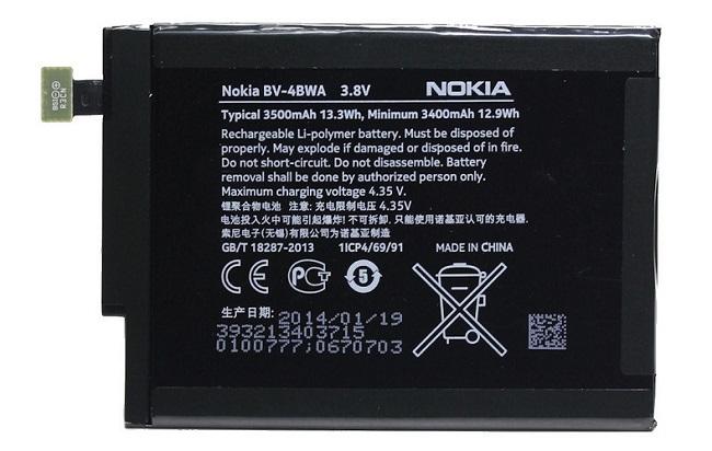Billede af Nokia Lumia 1320 batteri BV-4BWA Originalt