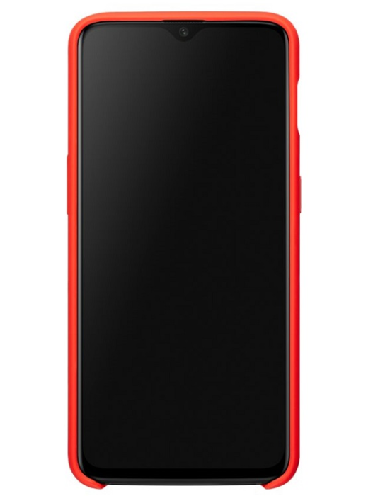 Image of   ONEPLUS 6T PROTECTIVE CASE (SILICONE RED)
