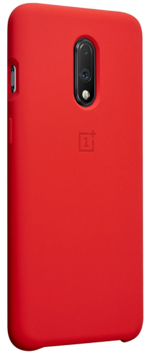 Image of   ONEPLUS SILICONE PROTECT CASE (ONEPLUS 7 RED)