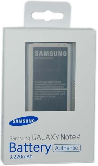 Billede af Samsung Akkublock 3220 mAh Li-Ion für N910F Galaxy Note 4