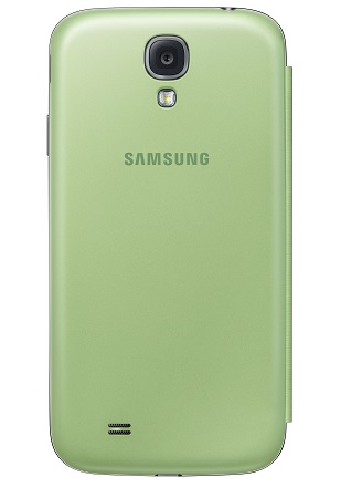 Image of   Originalt Samsung Galaxy S4 Flip Cover - Lime Green