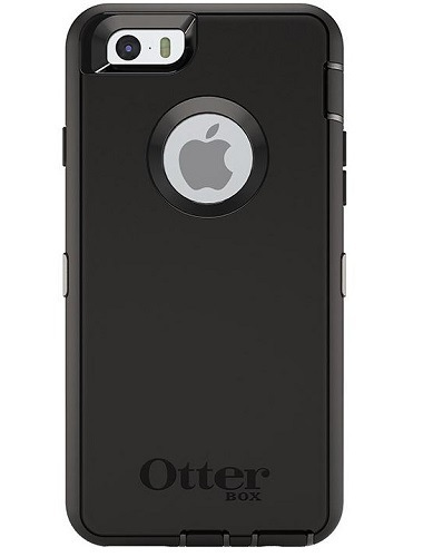 "Otterbox Defender Series cover til iPhone 6 / 6S (4.7"") Sort"
