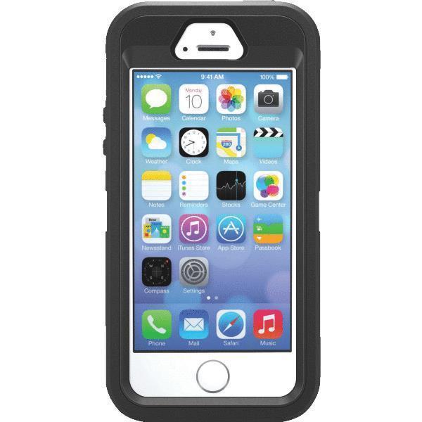 Image of   Otterbox Defender Series cover til Apple iPhone 5/5S/SE - Sort