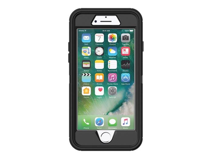 Image of   Otterbox Defender Series cover til Apple iPhone 7 Plus/8 Plus - Sort