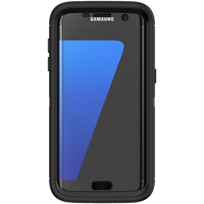 Image of   Otterbox Defender Series cover til Samsung Galaxy S7 Edge - Sort