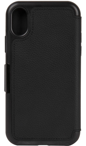 Image of   Otterbox Strada Folio cover iPhone X Sort