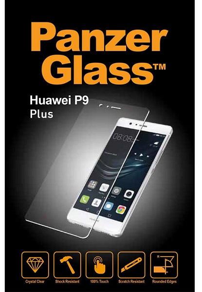 Billede af Panzer Glass Sikkerhedsglas Huawei P9+ (Plus) Dækker ikke hele skærmen