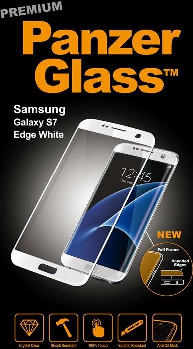Billede af Panzer Glass Sikkerhedsglas Premium til Samsung Galaxy S7 Edge Hvid Full Fit