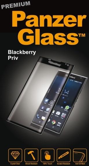Billede af Panzer Glass Sikkerhedsglas Premium til Blackberry Priv Sort