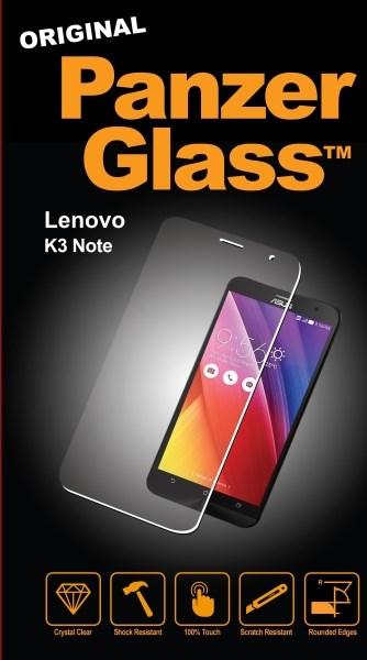 Billede af Panzer Glass Sikkerhedsglas Lenovo K3 Note Dækker ikke hele skærmen