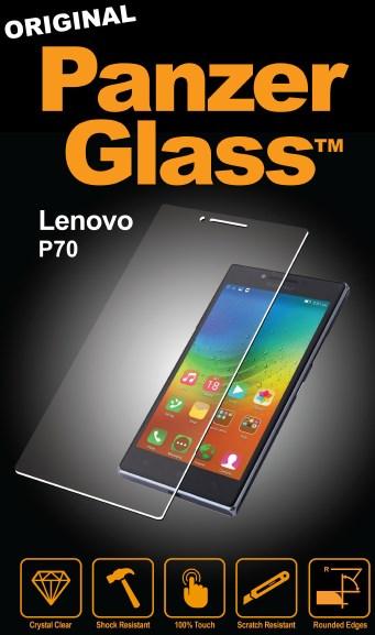 Billede af Panzer Glass Sikkerhedsglas Lenovo P70 Dækker ikke hele skærmen