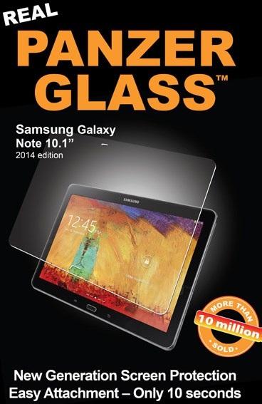 """Billede af Panzer Glass Sikkerhedsglas Samsung Galaxy Note 101"""" 2014 Edition"""