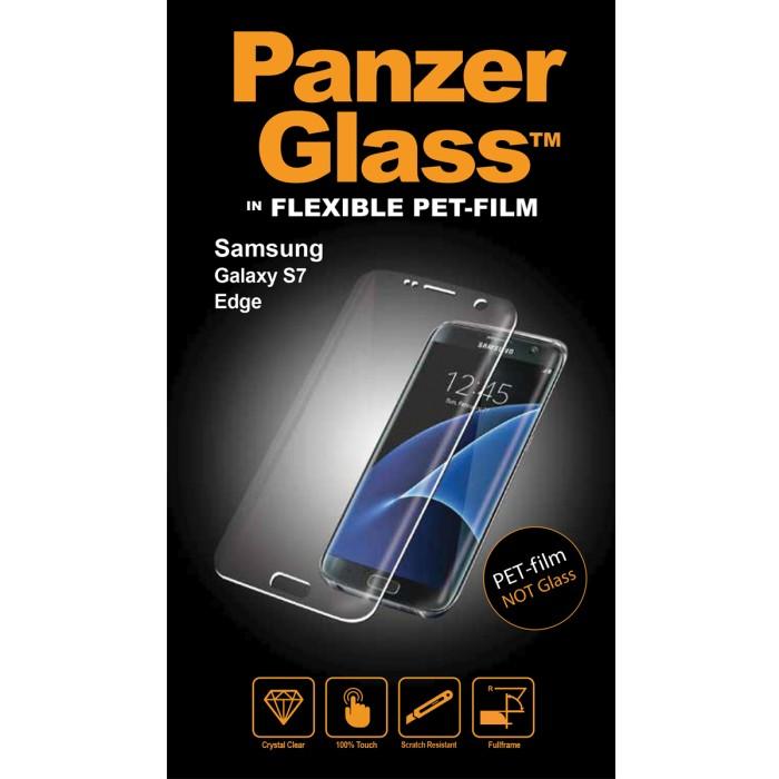 Image of   Panzer Glass PET-film (ikke sikkerhedsglas) til Samsung Galaxy S7 Edge