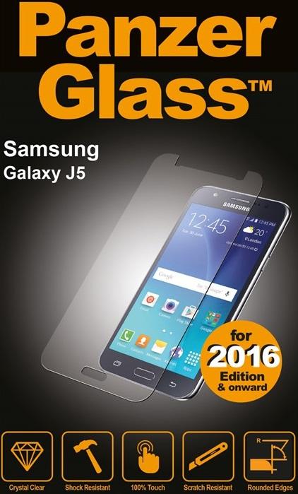 Billede af Panzer Glass Sikkerhedsglas Samsung Galaxy J5 (2016) Dækker ikke hele skærmen