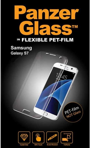 Image of   Panzer Glass Flexible PET-film (ikke sikkerhedsglas) Samsung Galaxy S7