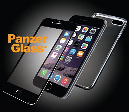 """Billede af Panzer Glass Sikkerhedsglas Premium iPhone 6/6S/ 4.7"""" Sort med Sort Edge Grip Cover"""