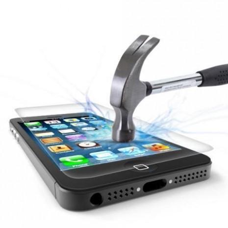 """Image of   Panzer Glass Sikkerhedsglas Premium iPhone 7 4.7"""" med sølv kant"""