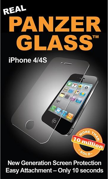 Panzer Glass Sikkerhedsglas til Apple iPhone 4 / 4S