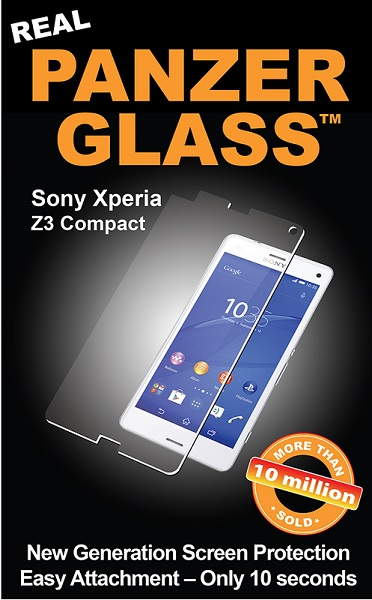 Panzer Glass Sikkerhedsglas til Sony Xperia Z3 Compact